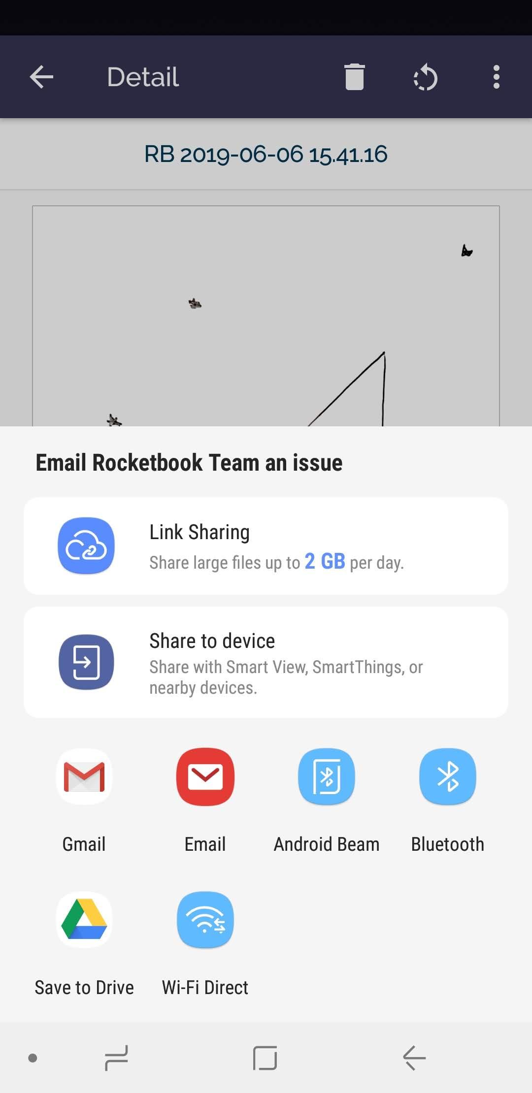 How to Send Scan Feedback – Rocketbook Help Center